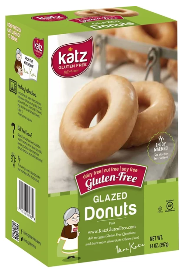 gluten-free products: Donuts